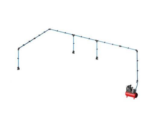 Aircom Quick Line Kit paineilmaputkistopaketti 16mm