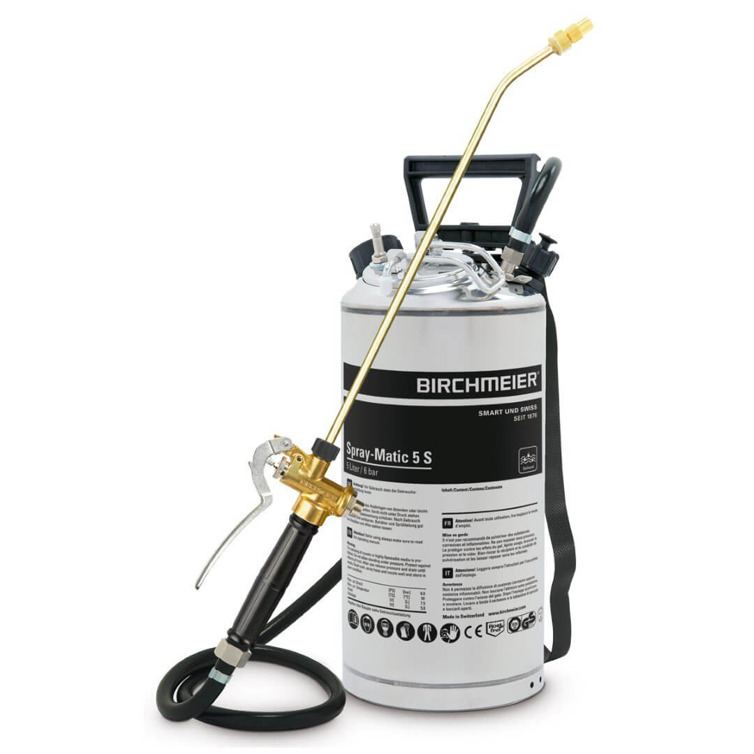 Birchmeier Spray-Matic 5S, pi-täyttö