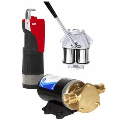 Pumput (vesi/polttoaine/öljy)