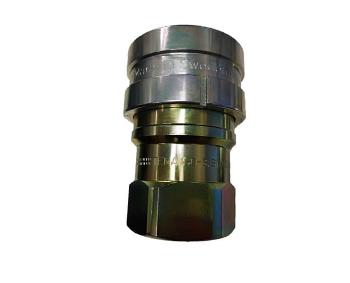 Hansen HKP hydrauliikkapikaliitin, terästä (valmistaja Tema)