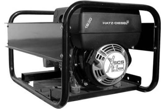HATZ HZA3-1B30S 400V 3-vaihe dieselaggregaatti