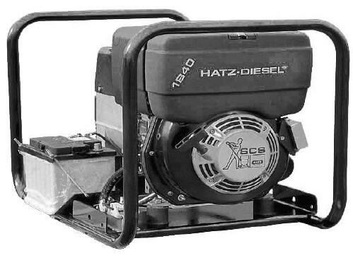 HATZ HZA3-1B40S 400V 3-vaihe dieselaggregaatti