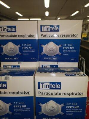 Hengityssuojain FFP3 venttiilillä 10kpl