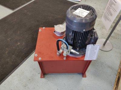 Hydrauliikkakoneikko 3kW 9l/min