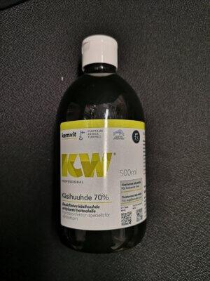 KW Käsihuuhde / Käsidesi 70% 500ml