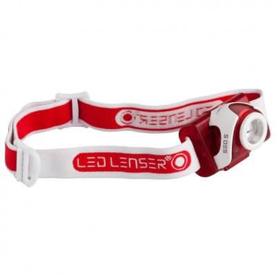 Led Lenser SEO 5 otsavalaisin, punainen