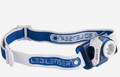 Led Lenser SEO 7R ladattava otsavalaisin