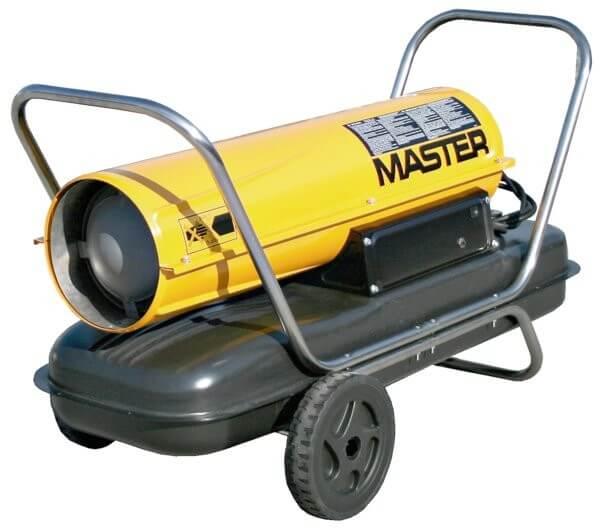 Master B 100 CED öljykäyttöinen kuumailmapuhallin
