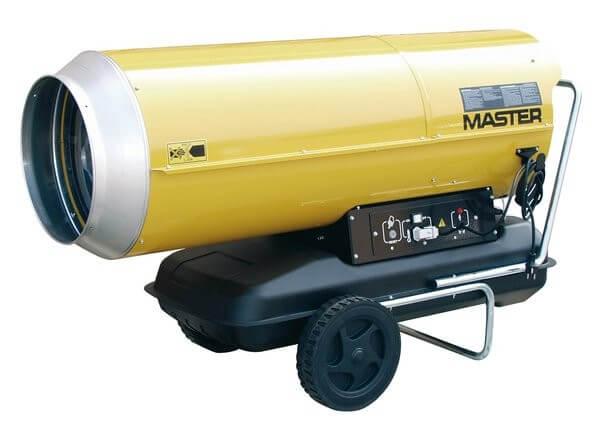 Master B 230 öljykäyttöinen kuumailmapuhallin