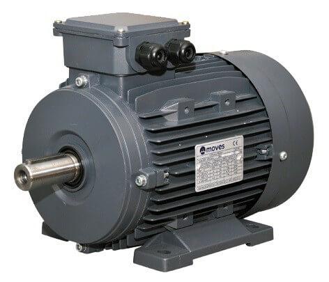 Moves sähkömoottori 1.1 kW 4-nap. 1500 RPM.