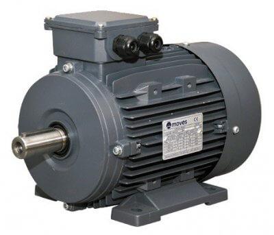 Moves sähkömoottori 5.5 kW 2-nap. 3000 RPM. (Runkokoko 132)