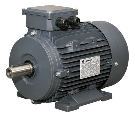 Moves sähkömoottori 5.5 kW 2-nap. 3000 RPM. (Runkokoko 132) - Kailatec Oy Verkkokauppa