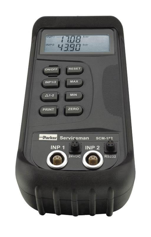 Parker Senso Control ServiceMan paineen- ja virtauksenmittaussarja