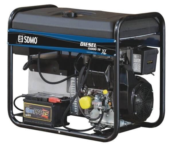 SDMO Diesel 15000 TE XL C 3-vaihe dieselaggregaatti