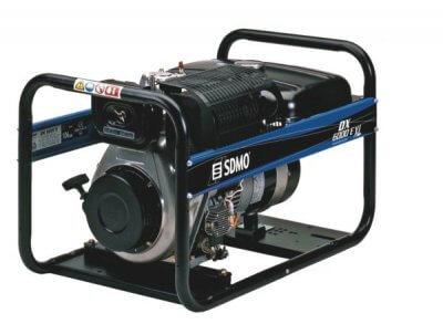 SDMO DX 6000 E XL C 1-vaihe dieselaggregaatti
