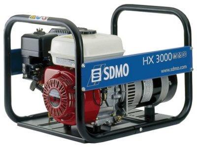 SDMO HX 3000 1-vaihe bensiiniaggregaatti