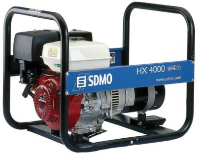 SDMO HX 4000 1-vaihe bensiiniaggregaatti