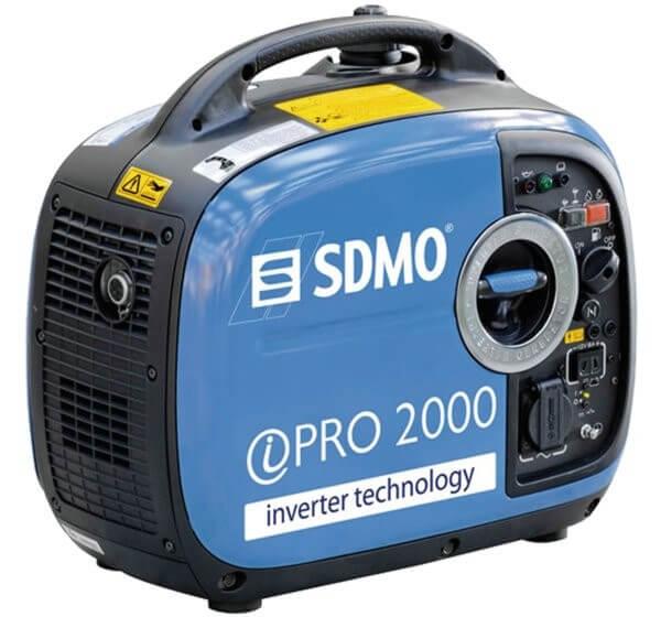 SDMO Inverter Pro 2000 1-vaihe bensiiniaggregaatti
