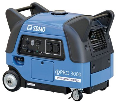 SDMO Inverter Pro 3000 E 1-vaihe bensiiniaggregaatti