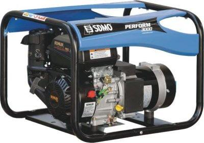 SDMO Perform 3000 1-vaihe bensiiniaggregaatti