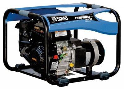 SDMO Perform 6500 1-vaihe bensiiniaggregaatti