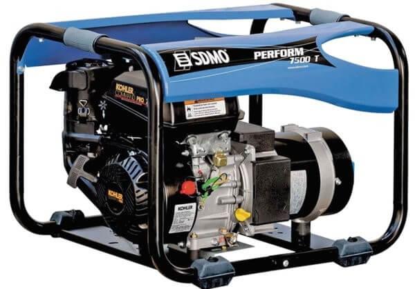 SDMO Perform 7500 T 3-vaihe bensiiniaggregaatti
