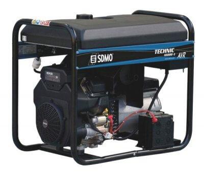 SDMO Technic 10000 E AVR C 1-vaihe bensiiniaggregaatti