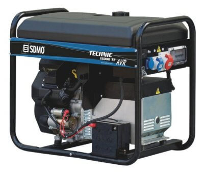 SDMO Technic 15000 TE AVR C 3-vaihe bensiiniaggregaatti