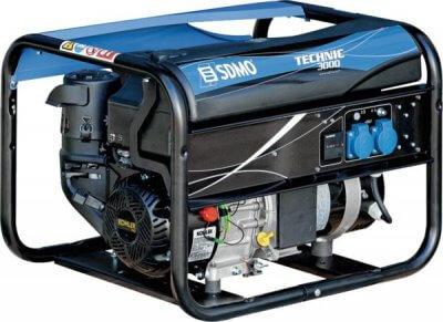 SDMO Technic 3000 1-vaihe bensiiniaggregaatti