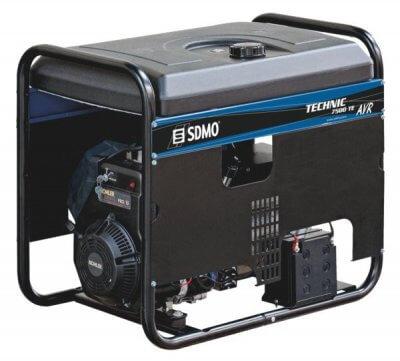 SDMO Technic 7500 TE AVR C 3-vaihe bensiiniaggregaatti