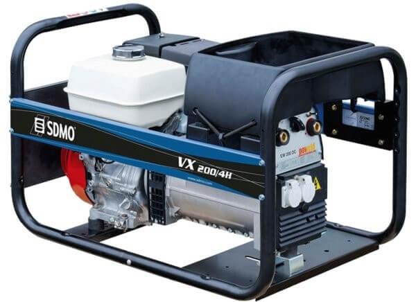 SDMO VX 200 / 4H 1-vaihe hitsausaggregaatti (bensiini) - Kailatec Oy Verkkokauppa