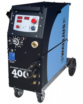 Wallius LMC 400 MIG/MAG puoliautomaatti