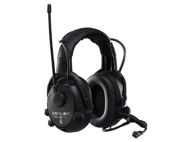 ZEKLER Kuulonsuojain 412RDB, Bluetooth + Radio, sis. akku ja laturi